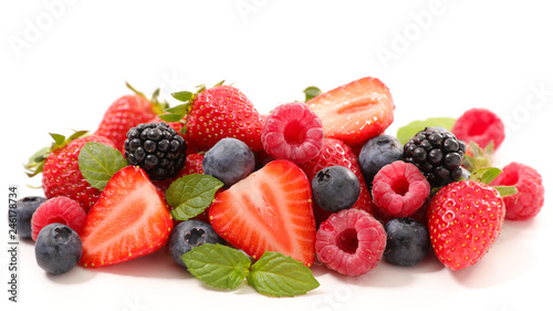 assorted berry fruit - 246178734