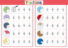 Circle The Correct Fraction, M...