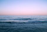 blue sea pink sky - 246190712