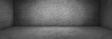 Wide Panoramic Concrete Brick ...