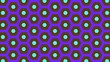 Leinwandbild Motiv Abstract background of same color  hexagon and different surrounding rings.