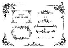 Elements Set Of Roses