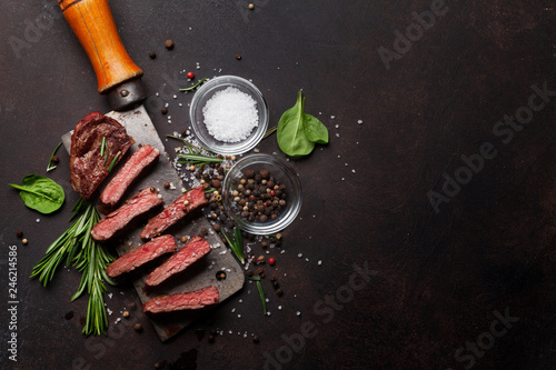 Top blade or denver steak