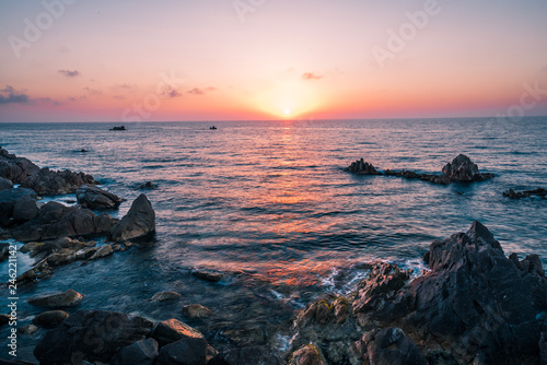 Acrylic Prints Most beautiful island in Europe. Clearest water in the Mediterranean Sea. Costa Paradiso.