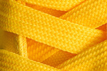 Yellow Sneakers Shoelaces