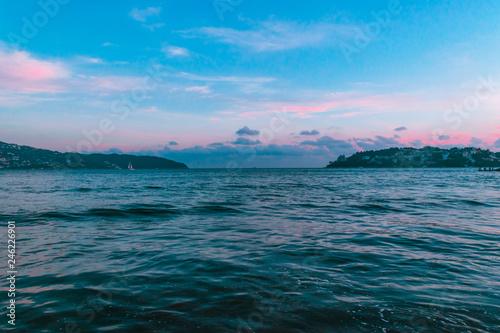 Fotografija  Beautiful sunset in Acapulco's beach
