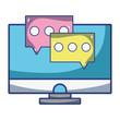 technology computing cartoon