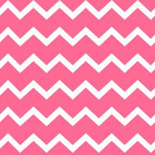 Pink Zig Zag Seamless Vector P...