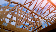 Residential Home Framing View ...