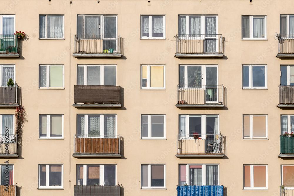Fototapeta  Block of flats