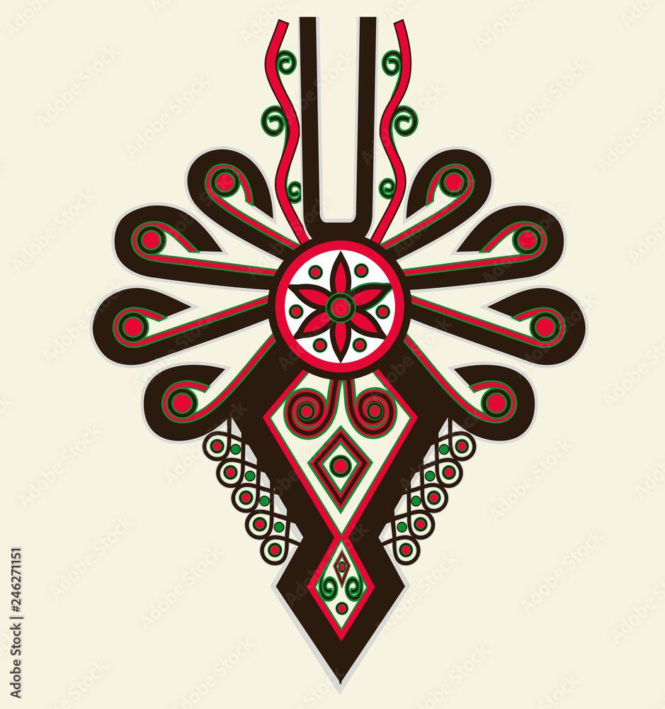 Fototapeta Highlanders Parzenica Emblem
