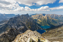 High Tatra Mountains, Aerial V...