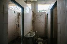 Abandoned Building, Bathroom