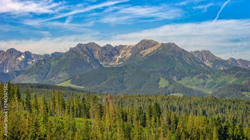 Photo  Mountains Tatry landscape