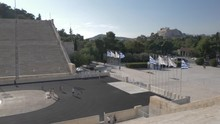 Slider Shot Of Panathenaic Sta...