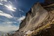 canvas print picture - RUEGEN, Nationalspark Jasmund, Erosion, Kreidekueste im Fruehjahr, Deutschland, Mecklenburg-Vorpommern, Sassnitz