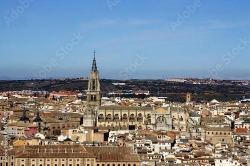 Fotografía  La Catedral de Toledo, España.