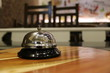 service bell vintage with bokehbackground - Image