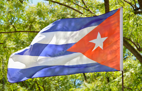 Foto op Plexiglas Texas The flag of cuba