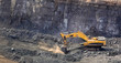 canvas print picture - Manganese Mining and processing in South Africa