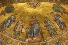 Basilica Di San Paolo Fuori Le Mura, Mosaico, Roma