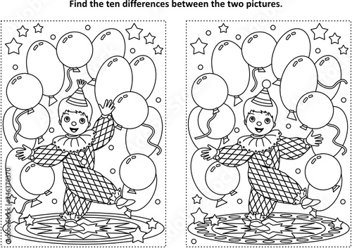 Top 10 Free Printable Funny Clown Coloring Pages Online | 353x500