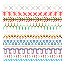 Colored Sewing Stitches Set, P...