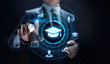 Education technology E-learning Online Training Webinar Seminar Knowledge Business Personal Development.