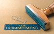 Our Commitment, Rubber Stamp Concept