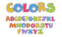 Kids Colorful Alphabets