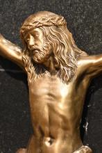 Golden Crucifix In The Cemetery  In Bistrita  ,ROMANIA