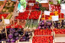 Mercato Di Vucciria, Sicilia, ...