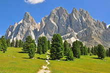 Beautiful Sassolungo Mountain ...