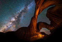 Milky Way & Double Arch, Arche...