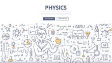 Physics Doodle Concept