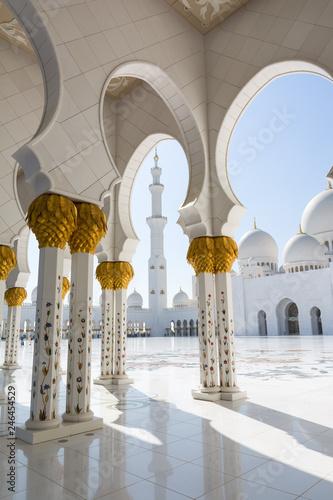 Keuken foto achterwand Abu Dhabi Sheikh Zayed Grand Mosque in Abu Dhabi, the capital city of United Arab Emirates