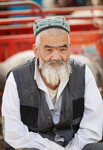 Photo  Uigur shepherd II, Keriya-China