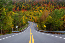 Scenic Road In The Mountains S...
