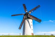 Windmill In Skerries County Dublin Ireland