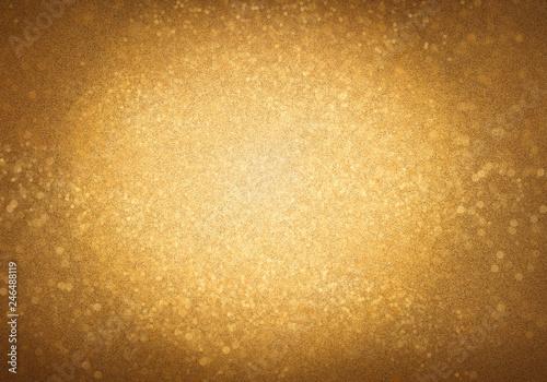Gold sparkling backround