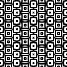 Black And White Abstract Pattern, Seamless