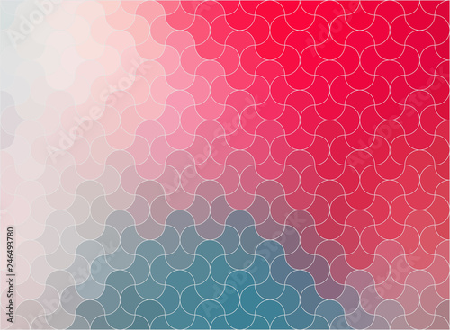 Pieces in a Puzzle abstract background for your design - Vector