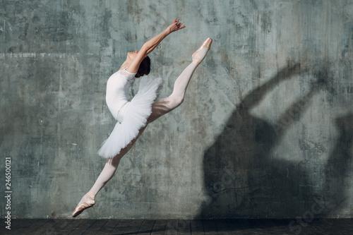 Canvastavla Jumping ballerina