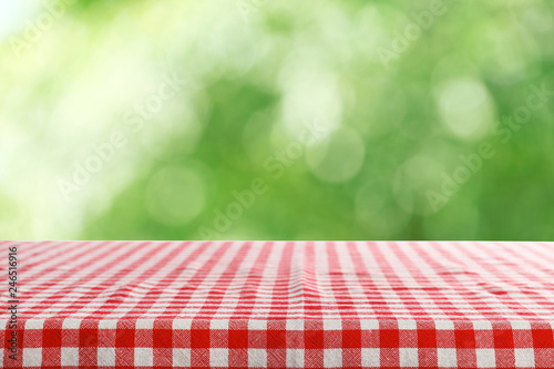 Foto op Plexiglas Picknick Abstract green nature background