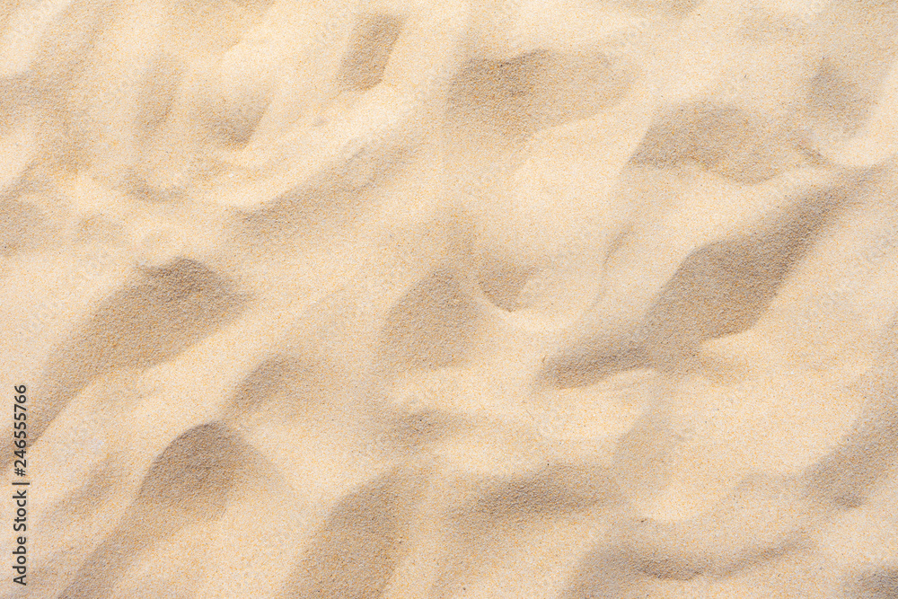 Fototapeta Fine beach sand in the summer sun