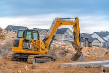 Excavator With Utah Valley Hom...