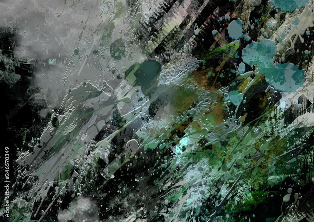 Contemporary art, digital, abstract artwork, design, modern art wallpaper, artwork background
