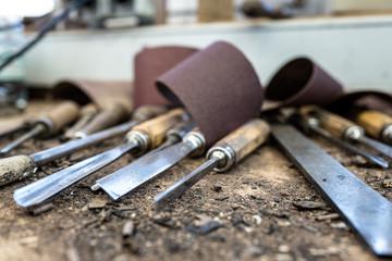 Werkzeug im Handwerk zur Holzbearbeitung