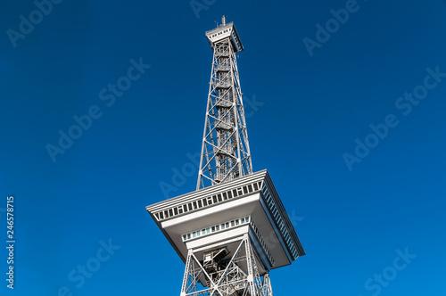 In de dag Centraal Europa Berliner Funkturm