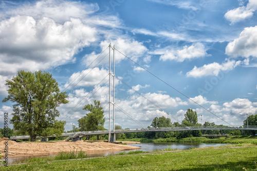 Fotografie, Obraz  Most wiszący